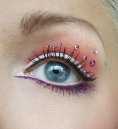 WOw, love the purple liner underneath