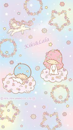 """Flowers & Stars"" (2014), as courtesy of Sanrio"