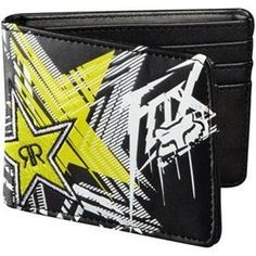 Fox Racing Rockstar Showcase Wallet - One size fits most/Black: http://www.amazon.com/Fox-Racing-Rockstar-Showcase-Wallet/dp/B005G1FXKU/?tag=httpblogpibiz-20
