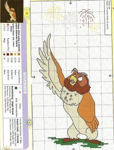 Pooh Bear Calendar-November
