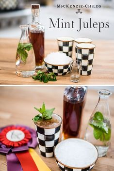 Each year, almost mint juleps are served over the Kentucky Derby-Kentucky Oaks weekend at Churchill Downs. Here's a recipe for the classic cocktail! Summer Drinks, Fun Drinks, Beverages, Drinks Alcohol Recipes, Cocktail Recipes, Hey Bartender, Churchill Downs, Derby Day, Classic Cocktails