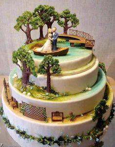 #Amazing Cake Art !