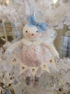 Snowgirl ornament
