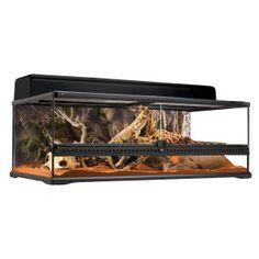 Calling all reptile pet parents! The Exo Terra® Natural Terrarium provides the ideal habitat for desert reptiles & amphibians. $71.99- $169.00 #ReptileMegaMonth