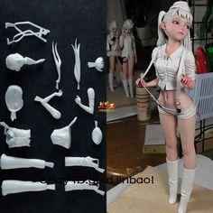 Klondike Soil Garage Kit Unpainted Resin Model Little Girl Figure Unassembled GK #Unbranded Dioramas, Anime Figures, Clay Figures, Doll Toys, Bjd Dolls, Sculpting Tutorials, Male Figure Drawing, Fantasy Model, Custom Action Figures