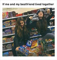 My bff and I would die of diabetes. But hey, at least we'd die together :,) Really Funny Memes, Stupid Funny Memes, Funny Relatable Memes, Funny Quotes, Best Friend Quotes Funny Hilarious, Best Friends Funny, Best Friend Pictures, Bff Pictures, Friend Pics
