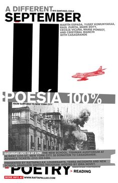 """poésia 100%"" by erik brandt / united states, 2005 / offset, 309 x 457 mm"