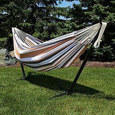 Fiesta Color Stripes Long Hammock 350 lb Cap
