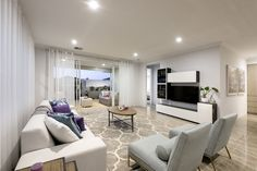 The Lotus © Ben Trager Homes | Perth Display Home | Family Retreat