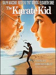 The karate kid was a movie about a young boy trained by a wise, old man to learn the rules of karate. This man taught him that fighting was not the important part but that you need to be disciplined and respectful to be a winner.