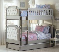 ordered for violet, no trundle Blythe Bunk Bed #pbkids