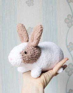 Amigurumi bunny doll cute bunny plush crochet bunny doll easter funny bunny easter rabbit easter gift toy for baby natural bunny crochet toy plush toy knitted stuff girk gift ready to ship useful toy soft negle Gallery