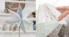 Décoration de Noël : une étoile à 7 branches ... Prima