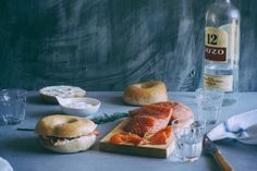 Ouzo Cured Salmon ~ with all these eclectic flavors going on, you know it's gotta be good!