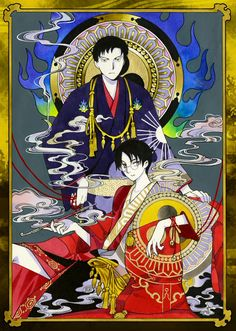 xxxHolic ~~ Eternally bound by the red thread of fate :: Doumeki and Watanuki