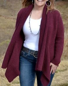 Cute!  Knitting club  We love this stunning sweater designed by Craftsy instructor Marly Bird! Get the pattern for just $4.99 and start knitting your own cozy winter sweater! Click: http://www.craftsy.com/ext/20130131_1_FB_knitting_club_1