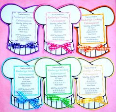 Items similar to The COOKING Collection - Custom Cupcake Toppers from Mary Had a Little Party on Etsy Baking Birthday Parties, Baking Party, Birthday Party Themes, Birthday Ideas, Custom Invitations, Party Invitations, Invitation Ideas, Party Favors, Kitchen