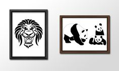 When I first started out as a Graphics Designer, one of the first lessons I learnt was how to use Adobe Illustrator. In order to practice my skills, I took images and recreated them, such as this Lion and these Pandas.