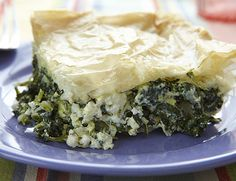 spinach and feta phyllo pie