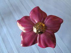 Avon Diva Lover   Porcelain Wild Flower by TheJewelryDiva on Etsy, $22.00