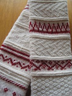 Amazingly beautiful. Ore Tradition - Sampler in Twined Knitting  Inspiration