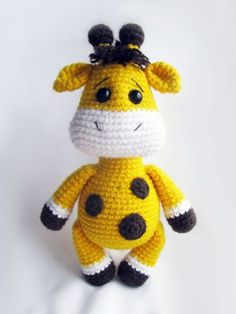 Baby giraffe - FREE crochet pattern