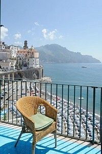 The view is waiting in Amalfi Coast  Atrani