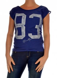T-SHIRT SHORTSLEEVE DAMES DEEDEE SS TOP JRS donker blauw Only