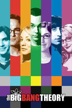 The Big Bang Theory Poster Poster Großformat - Close Up GmbH