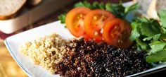 gluténmentes köret, quinoa recept Seaweed Salad, Quinoa, Risotto, Sushi, Ethnic Recipes, Food, Being Healthy, Get Skinny, Ethnic Food