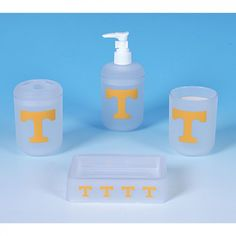 Championship Home Accessories Tennessee Volunteers 4 Piece Bath Set - 8502