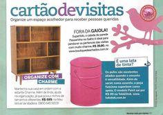 A revista Decorar Mais Por Menos publicou esta novidade linda da Meu Móvel de Madeira, a estante Charme. Quem já conhecia?  http://www.meumoveldemadeira.com.br/produto/estante-charme-doce-de-leite-escovado