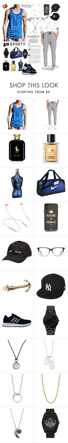"""I don't like that so much 😕😒😕 but it's a hard day 😔🤷🏻 ♀️❤️✌️"" by real-soha ❤ liked on Polyvore featuring Zanerobe, Ralph Lauren, Lacoste, John Lewis, NIKE, Beats by Dr. Dre, Sonix, Yeezy by Kanye West, New Era and adidas"