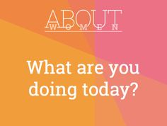 Question of the day... #ABOUTWOMEN #plans #doing #accomplish #achieve #relax #ItsYourDayYouDecide   Please join the judgment-free convHERsation -  https://www.facebook.com/groups/NikkiNiglABOUTWOMEN/