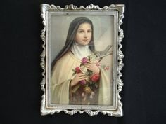 SAINT THERESE.  Nun and Doctor of the Church  Born January 2, 1873 Alençon,[1] Orne, France  Died September 30, 1897 (aged 24) Lisieux, Calvados, France  Honored in Catholic Church  Beatified April 29, 1923 by Pope Pius XI  Canonized May 17, 1925 by Pope Pius XI  Major shrine Basilica of St. Thérèse in Lisieux, France Feast October 1 October 3 in General Roman Calendar 1927–1969, Melkite Catholic Church  Attributes Roses  Patronage Missionaries; France; Russia; HIV/AIDS sufferers; floris...