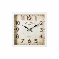 Reloj pared blanco bretaña