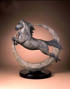 Eclipse Equine Bronze Ed Size 	35 Price 	$7,800.00 Artist 	Star Liana York  Star Liana York Equine Sculpture and Jewelry @ staryorksculpture.com