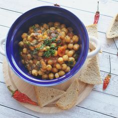 Recept: Villámgyors csicseri egytál ebédre – Stop Sugar One Pot Meals, Chana Masala, Food And Drink, Veggies, Sugar, Ethnic Recipes, Vegetable Recipes, Vegetables, One Pot Wonders