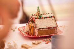 Grab your friends and join the fun with gingerbread building!!
