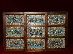 Galería de la obra BARGUEÑO (esmalte al fuego)