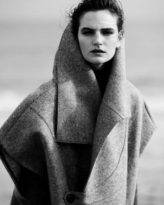 Wool felt coat by TOME-The Lab Magazine