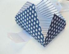 Stampin' Up Kartenbox Marineblau Anhängerstanze