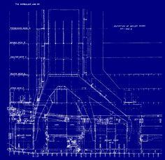 Titanic Boiler Room Longitudinal view Plan  (2000×1946)
