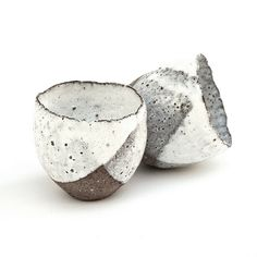 Sake Cups from the Rustic Ceramic Collection (By nomliving.com) Photo credit: Yeshen Venema (via annsymes)