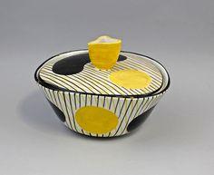 """Deckeldose Schramberg """"Hawaii"""" 9919414 in Antiquitäten & Kunst, Porzellan & Keramik, Keramik   eBay"""