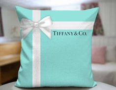 Tiffany Co Gift Decorative Pillow Cover by SPBU on Etsy, $20.00