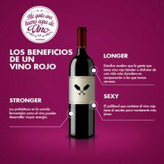 Los beneficios de un vino tinto! Las mejores razones para disfrutar de una buena copa de vino tinto