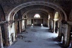 Michigan Central Station...crazy to imagine what a bustling place it used to be.