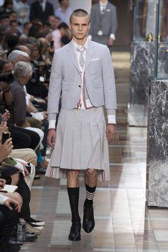 Thom Browne e seu momento fashion em Paris - Notícias : Desfiles (#843661)