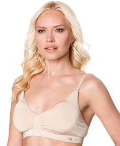 742017f4854b2 A Pea in the Pod Seamless Full-Coverage Clip-Down Nursing Bra Women -  Maternity - Macy s